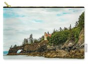 Natural Arch At Lighthouse Point Carry-all Pouch