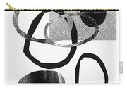 Natural Balance 2- Abstract Art By Linda Woods Carry-all Pouch by Linda Woods