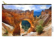Natural Bridge Arch In Bryce Canyon National Park Carry-all Pouch
