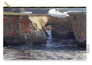 Natural Bridge At Point Arena Carry-all Pouch