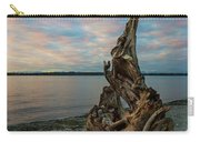 Natural Driftwood At Birch Bay State Park Carry-all Pouch