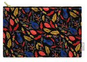 Natural Floral Pattern Carry-all Pouch