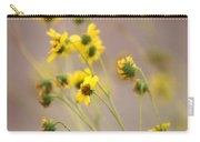 Natural Flowers Carry-all Pouch