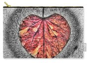 Natural Heart Carry-all Pouch