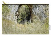 Natural Limestone Arch At Dove Valley Carry-all Pouch