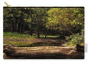 Natural Seating By River Carry-all Pouch