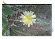 Natural... White And Yellow Flower Carry-all Pouch