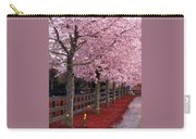 Nature - Pink Trees Carry-all Pouch