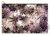 Nature Abstract In Pink And Brown Carry-all Pouch