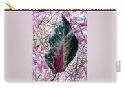 Nature Abstract Of Leaf And Grass Carry-all Pouch