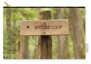 Nature Loop Sign Carry-all Pouch