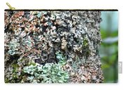 Nature Painted Tree Bark Carry-all Pouch