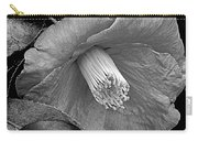 Nature's Beauty In Black And White Carry-all Pouch