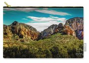 Natures Paintbrush Carry-all Pouch