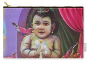 Naughty Little Baby Krishna  Carry-all Pouch