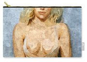 Naughty Scarlett Nude Carry-all Pouch