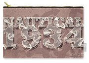 Nautical 1934 Carry-all Pouch