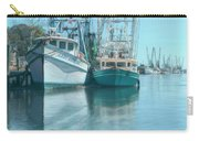 Nautical Aquas At The Harbor Carry-all Pouch