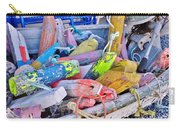 Nautical Riot Of Color Carry-all Pouch