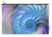 Nautilus Shells Blue And Purple Carry-all Pouch