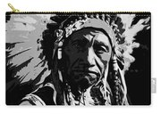 Navajo Indian Chief Carry-all Pouch