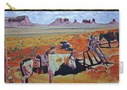 Navajo Ponies Carry-all Pouch
