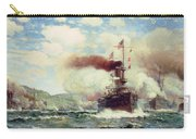 Naval Battle Explosion Carry-all Pouch by James Gale Tyler