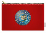 Naval Special Warfare Group Two - N S W G-2 - On Red Carry-all Pouch