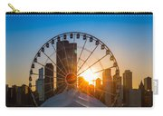 Navy Pier Sundown Chicago Carry-all Pouch