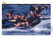 Navy Seals Practice High Speed Boat Carry-all Pouch