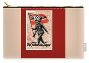 Nazi Propaganda Poster Number 1 Circa 1942 Carry-all Pouch