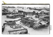 Nazi Tanks On The Outskirts Of Stalingrad 1942 Carry-all Pouch