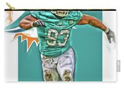 Ndamukong Suh Miami Dolphins Oil Art Carry-all Pouch