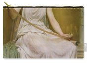 Neaera Reading A Letter From Catullus Carry-all Pouch by Henry John Hudson