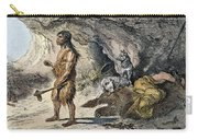Neanderthal Man Carry-all Pouch