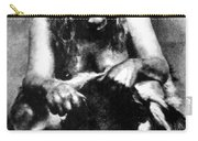Neanderthal Woman Carry-all Pouch