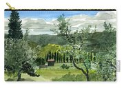 Near San Giovanalle Tuscany Carry-all Pouch