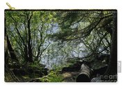Near Water Of The Forest Lake. Carry-all Pouch