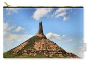 Nebraska Chimney Rock Panorama Carry-all Pouch