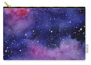 Nebula Watercolor Galaxy Carry-all Pouch