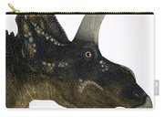 Nedoceratops Dinosaur Head Carry-all Pouch
