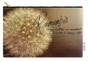 Need A Breeze Quote Carry-all Pouch