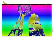 Needle And Ferris Wheel Fractal Carry-all Pouch