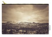West Needle Mountain Nostalgic Carry-all Pouch