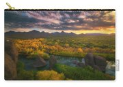 Needle Rock Sunrise Carry-all Pouch