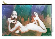 Neemah African American Nude Girl In Sexy Sensual Painting 4766. Carry-all Pouch