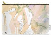Neemah African American Nude Girl In Sexy Sensual Painting 4767. Carry-all Pouch