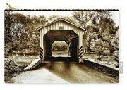 Neff's Mill Covered Bridge - Lancaster County Pa. Carry-all Pouch