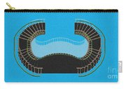 Negative Stair 45 Blue Background Architect Architecture Carry-all Pouch