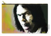 Neil Young Portrait  Carry-all Pouch